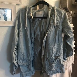 Jean colored jacket